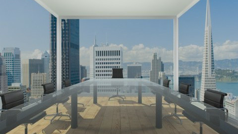 City Conference Room - Modern - Office - by Nature Girl