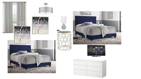 bedroom 4 Simoni - by walldressingdecor