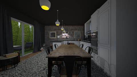 Kitchen Geo - by MangaandCatManiac