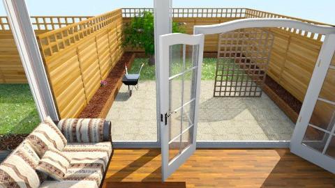 Garden View - by sassysammy123
