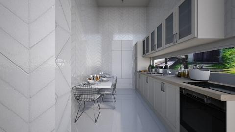 Casa158KitchenandDining - Eclectic - Kitchen - by nickynunes