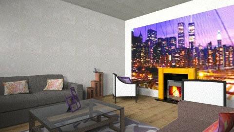 sala - Living room - by silvanerosa