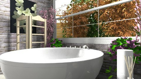Large Bathroom view6 - Eclectic - Bathroom - by hope160