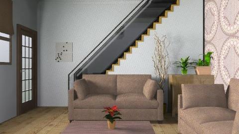 Low Budget - Modern - Living room - by AmyMcGrane