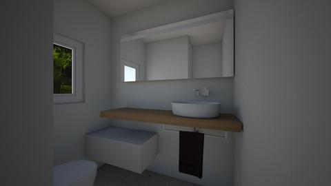 Toilet Groundfloor - Bathroom - by flavush