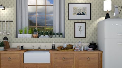 Country Kitchen Vignette - Kitchen - by GraceKathryn