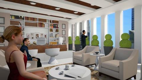 Boss Office - Modern - by Nurummairah