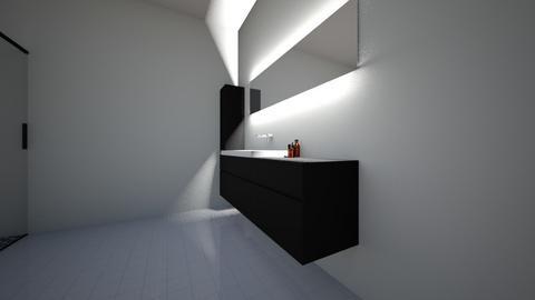 bathroom 1 - Modern - Bathroom - by dav402