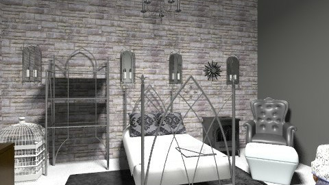 Gothic Bedroom - Vintage - Bedroom - by mydreamhouse