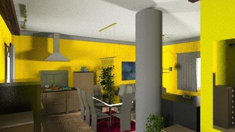 konyha nappali5e - Modern - Living room - by Vargn Nagy Ceclia
