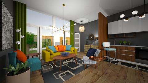MCM Living Room - Retro - Living room - by jjp513