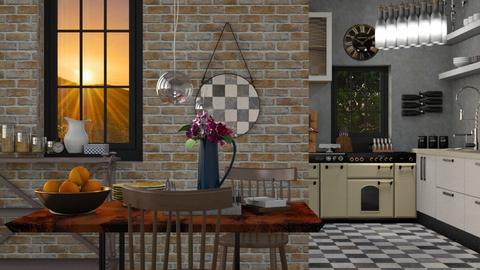 Idustrial - Modern - Kitchen - by Jessica Fox