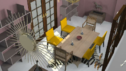 Expat dining - Dining Room - by GSMarchal