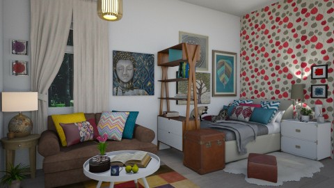 Combined Living Bedroom - by FranChi