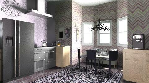 Kitchen - Vintage - Kitchen - by Alyssa Walker