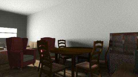 28 - Rustic - Living room - by ranya_ahmed