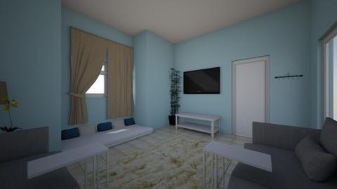 take 2 - Living room - by Alyaziaalhosani