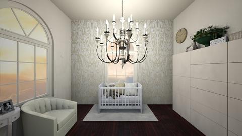 Cream Nursery - Modern - Kids room - by AngelicT