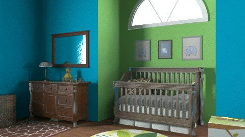 Baby Boy H - Masculine - Kids room - by egrimsley