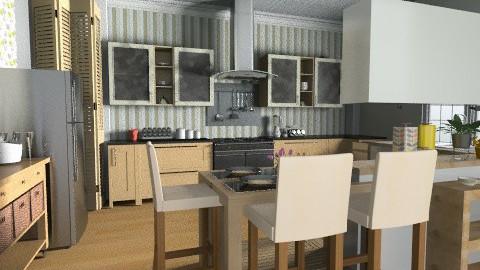 Kitchen 1 - Classic - Kitchen - by VioletRosa