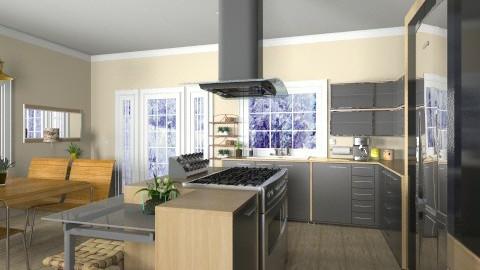 Island Kitchen - Modern - Kitchen - by Bibiche