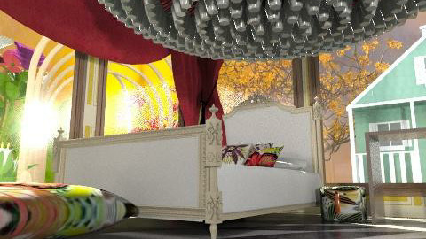 Alice in Wonderland - Minimal - Living room - by natural11