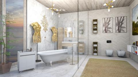 FANCY  - Modern - Bathroom - by zayneb_17