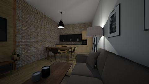 kuchnia - Kitchen - by aganieliwocka