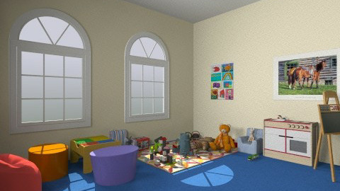 nursery  - Modern - Kids room - by amelzarah1