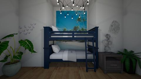 green bunk - Country - Kids room - by ellta