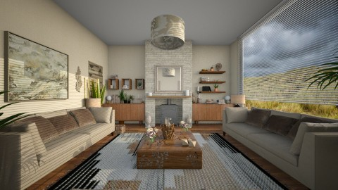 Simple2 - Modern - Living room - by camilla_saurus