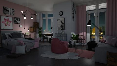 Rose Dreams - Bedroom - by Eleonor Debus
