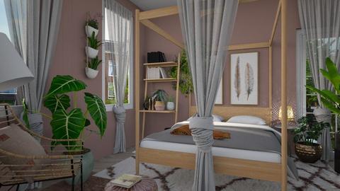 urban jungle - Bedroom - by Liu Kovac