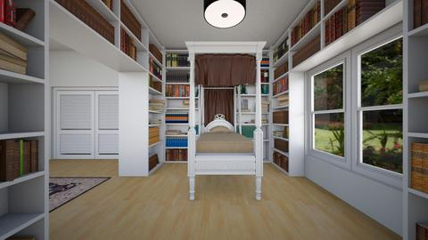 Library Room 2 - Bedroom - by SammyJPili
