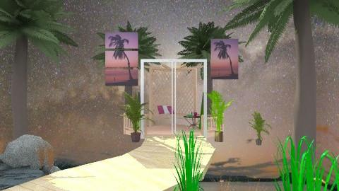 universe 2 - Eclectic - Garden - by Karen Priest