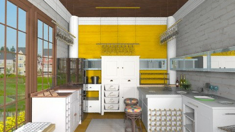 Chic Dining - Eclectic - Kitchen - by BerBer