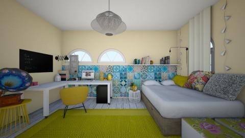 8 - Vintage - Bedroom - by DunjaS99