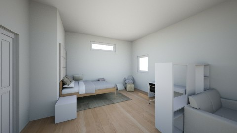 Emilie bedroom - Minimal - Kids room - by LCarle