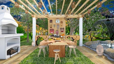 Breakfast at the garden - Garden - by Laurika