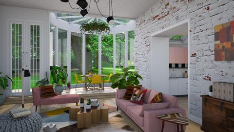 _Boemio_ - Living room - by Brubs Schmitt
