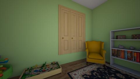 2 year old room  - Kids room - by lexi mankey5
