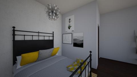 Bedroom - Minimal - Bedroom - by lucyseward1