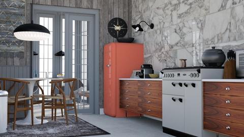 Classy Conservatory  - Modern - Kitchen - by HenkRetro1960