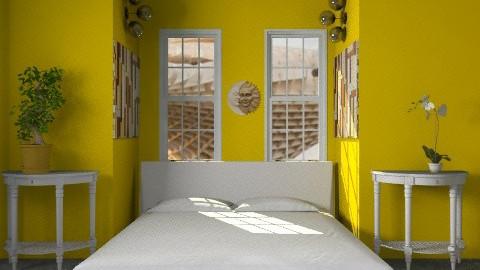 sunny  - Modern - Bedroom - by lavilavinia