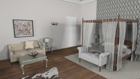 Master bedroom - by iamakittycat