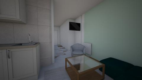 mala soba 2 - Minimal - Bedroom - by kreator
