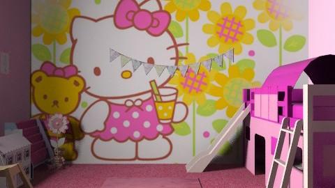 sienna's room - Feminine - Kids room - by malou84