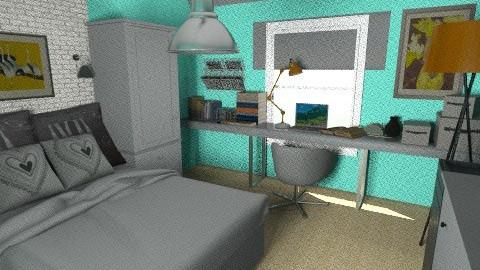 small bedroom alt 01 - Bedroom - by kedili