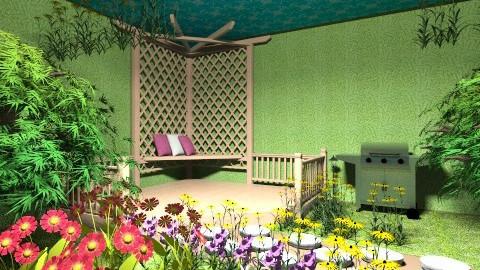 Spring Garden - Garden - by Kammz623