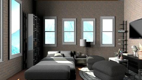 new design dream home 1 - Minimal - Bedroom - by ypramestika